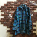 PRINT FLANNEL BIG SHIRT