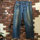 "70s LEVI'S 501 ""66"" chain stitch DENIM PANTS"