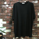 VERSACE BLACK PLAIN TEE
