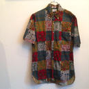 60-70's COTTON B/D SHIRT