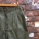 LADIES COTTON TUCK SHORTS