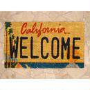 【玄関マット】コイヤーマット California Welcome