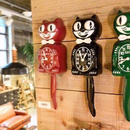 キットキャットクロック(Kit Cat Clock)【ブラック】