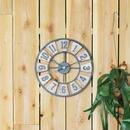 鉄と杢目の壁掛け時計 【BARREL CLOCK】バレル クロック