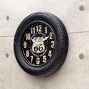 【壁掛時計】アンティーク Tire クロック [タイヤ]