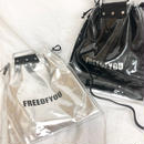 Clear 2 way bag