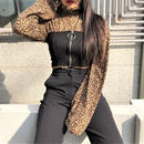 Leopard Turtleneck(2colours)