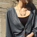 WOTA original Sparkle Cardigan gray