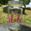 ワウワウレモネード Aloha  Logo 32oz Maison Jar Pink/ピンク