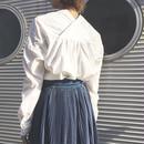 #パンツに合う刺繍入りボリュームシャツ 品番:1137606 カラー:プレーン