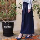 #ボーダーTにハマるフレアスカーチョ 品番:1117003 カラー:ナイト