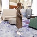 glencheck long coat