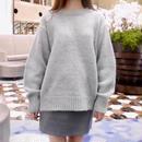 alpaca blend knit / mint