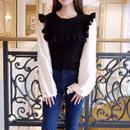 frill knit BL