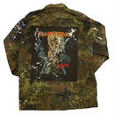 Band Tee remake shirt 【camo】(killers)