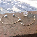 2dot Bangle Quartz×Pearl