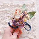 cloth flower corsage