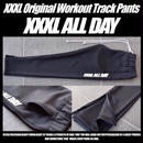 ''XXXL ALL DAY''トラックパンツ