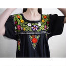 HAND EMBROIDERY MEXICAN DRESS