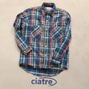 70s BIG MAC check shirt