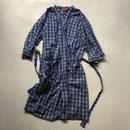 Old COVINGTON Check Gown Coat