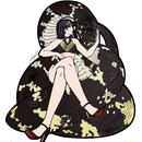 【REPTILE GIRL】ベーレンパイソンステッカー
