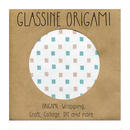 GLASSINE ORIGAMI the cube