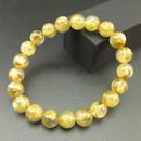 高品質、グレードの高いゴールドルチル(8.5㎜)のブレスレット
