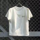 箔付きスウェットTシャツ