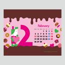 【February 2018】PC用壁紙(1280×1024)