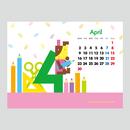 【April 2018】PC用壁紙(1024×768)