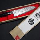三徳包丁 ダマスカス鋼 -Santoku Kitchen knife Damascus-165mm 【恵比寿刃-YEBISU YAIBA-】