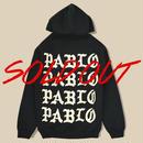 「PABLO PARIS」PULLOVER HOODIE  / BLACK(送料込み)