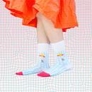 "ETCHIRA OTCHIRA×YeYe collaboration SOCKS+CD AFTERNOON - ""hot"""