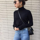 fit  turtleneck knit