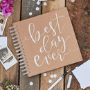 "Guestbook ""Best Day Ever"" 《送料込》"