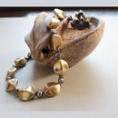 シードタイプ グレー|Seed Necklace G 48cm