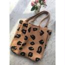 」◆お洋服3点以上ご購入の方全員にこちらのバッグをプレゼント◆レオパードニットトートバッグ◆今年のトレンド【レオパード】◆