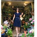 2wayスタイル美人ワンピース【ビジネスシーンに、お社交に】【M〜LLサイズの方迄推薦】【ユヒャン推薦】