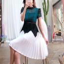【暑い秋の涼しいファッション】リリアンレースワンピース【クールビューティーに貴女を演出♡】