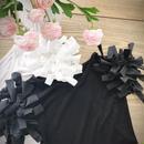 ラグジュアリーショルダーシャツ(黒)