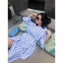 ◆2月28日まで1000円OFF◆週末バカンスシャツドレス【ゆったりラグジュアリー】