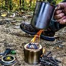 Pathfinder カップ クッキングセット (カップ、リッド、ボトルストーブ、フェロロッド、ミニインフェルノ)