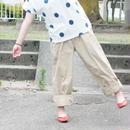 ※XS、Sサイズ再入荷待ち※ユニセックス*MASTER&Co*マスターアンドコーLong Chino Pant with Belt オフィサーチノ(ベージュ)