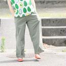 ※XS、Sサイズ再入荷待ち※ユニセックス*MASTER&Co*マスターアンドコーLong Chino Pant with Belt オフィサーチノ(オリーブ)