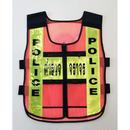 タイ警察メッシュビブス オレンジ/イエロー