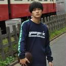 ライン丸首ジャージ/YRT661