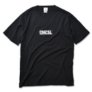 GMCAL BOX LOGO Pigment Dyed Tee【Black】