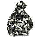 ALOHA GOOD LUCK BOX LOGO hooded sweatshirt【Snow Camo】