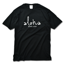 aloha good luck Tee 【Black】